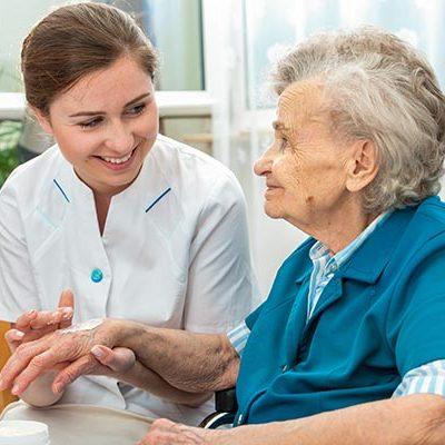 Female-caregiver-with-senior